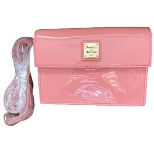 Dooney and Bourke Flap Patent Leather Bag